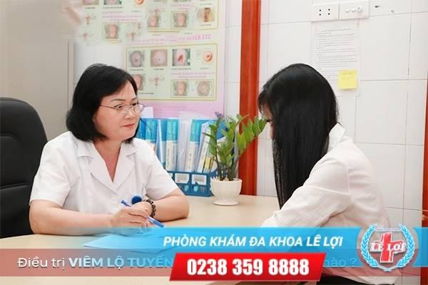 Điều trị viêm lộ tuyến cổ tử cung - Phương pháp áp lạnh hay dao leep?